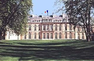 Het Franse Presidentschap. Presidentieel paleis Het Élysée