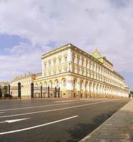 Het Russische Presidentschap. Presidentieel paleis bij het Kremlin
