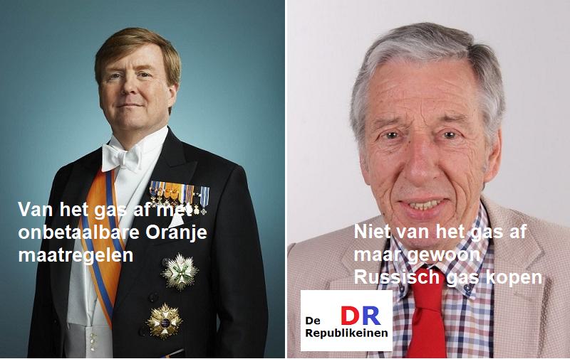Oranje of de republiek met een President